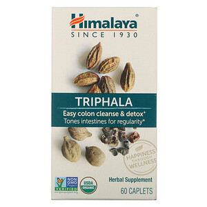 Хималая Хербал Хэлскэр, Triphala, 60 Caplets отзывы покупателей