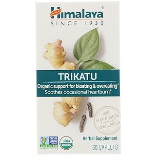 Himalaya, Trikatu, apoyo gástrico, 60 cápsulas