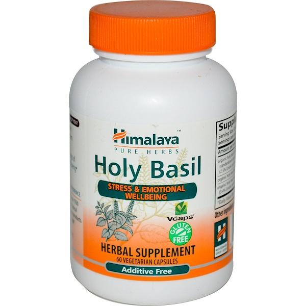 Himalaya, Holy Basil, 60 Veggie Caps