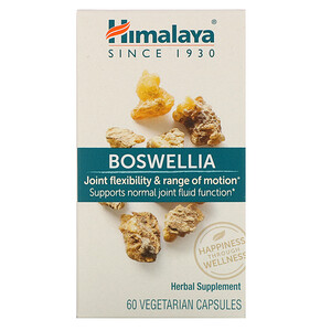 Хималая Хербал Хэлскэр, Boswellia, 60 Vegetarian Capsules отзывы покупателей