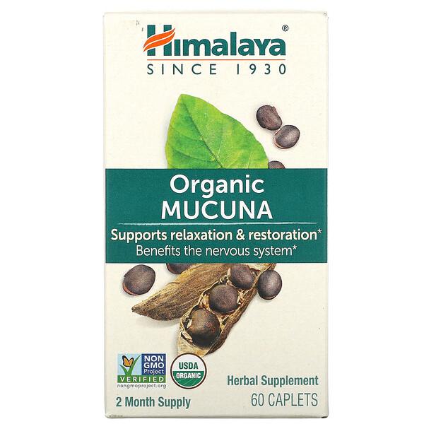 Organic Mucuna, 60 Caplets