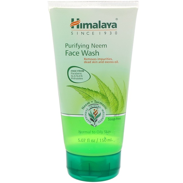 Himalaya, Purifying Neem Face Wash, Normal to Oily Skin, 5.07 fl oz (150 ml)