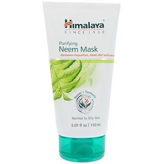 Himalaya, Neem Purificante, Máscara, 5,07 fl oz (150 ml)