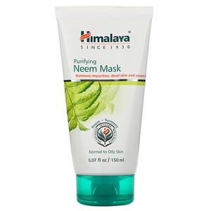 Хималая Хербал Хэлскэр, Purifying Neem Mask, 5.07 fl oz (150 ml) отзывы покупателей