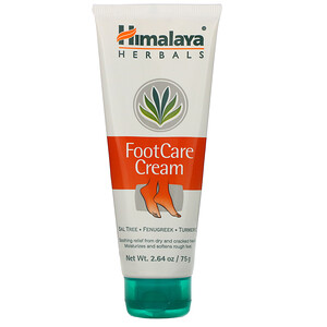 Хималая Хербал Хэлскэр, Footcare Cream, 2.64 oz (75 g) отзывы покупателей