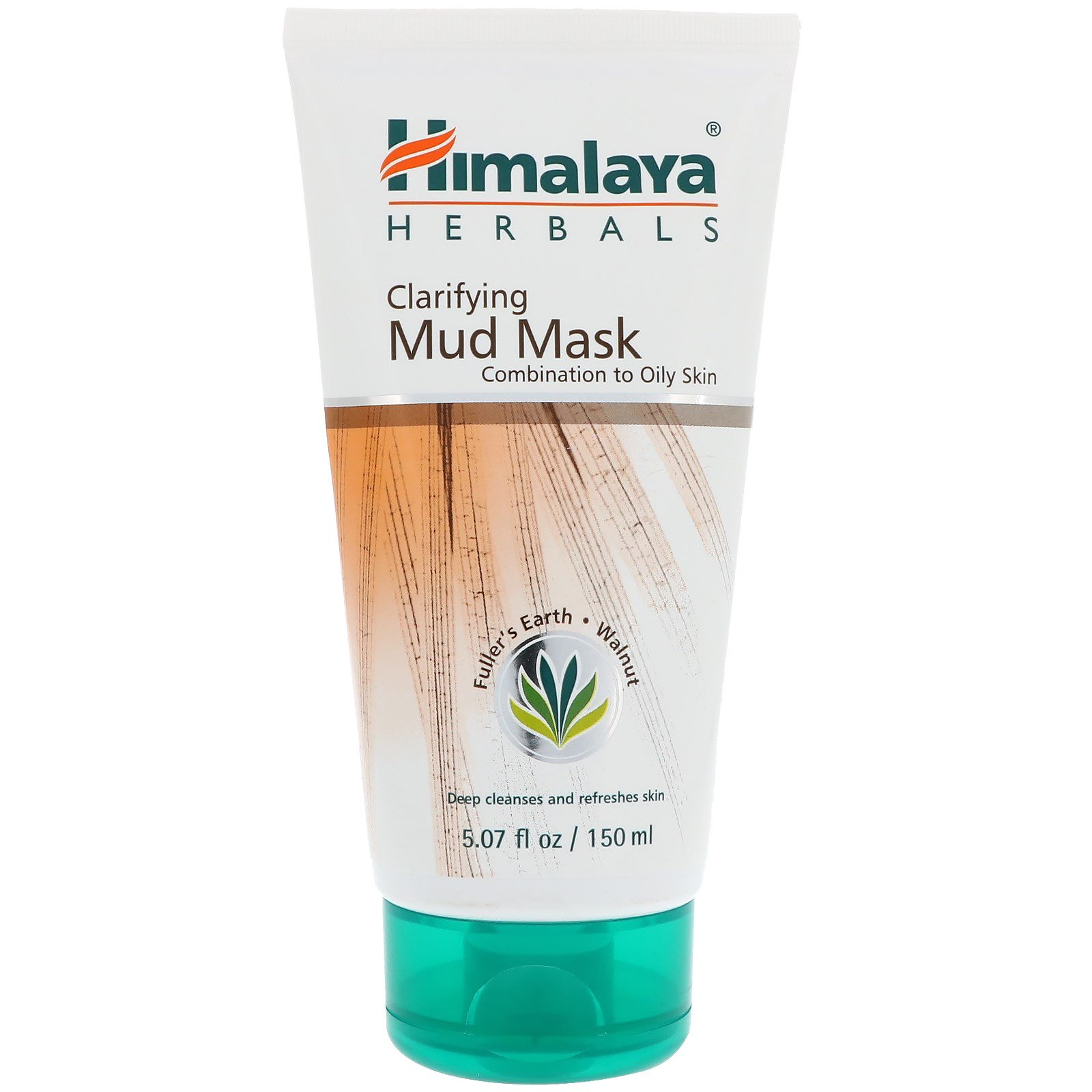 Himalaya, Clarifying Mud Mask, 5.07 fl oz(pack of 2) Hyaluronic Acid Serum