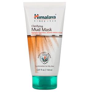Хималая Хербал Хэлскэр, Clarifying Mud Mask, 5.07 fl oz (150 ml) отзывы покупателей