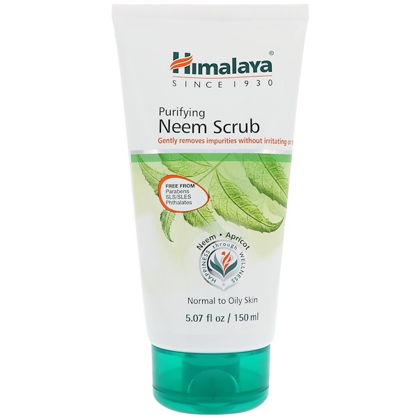 Himalaya, Purifying Neem Scrub, Normal to Oily Skin, 5.07 fl oz (150 ml) (Discontinued Item)