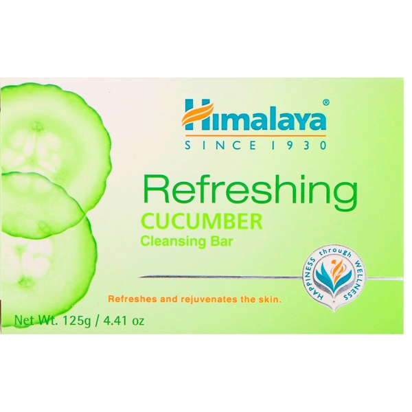 Refreshing Cleansing Bar, Cucumber, 4.41 oz (125 g)