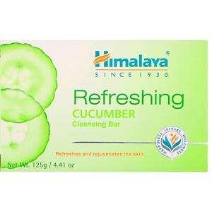 Хималая Хербал Хэлскэр, Refreshing Cleansing Bar, Cucumber, 4.41 oz (125 g) отзывы