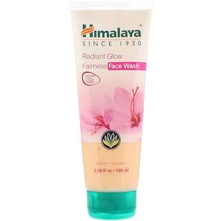 Himalaya, Radiant Glow Fairness Face Wash, 3.38 fl oz (100 ml)