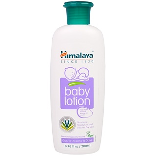 Himalaya, Baby Lotion, Oils of Almond & Olive, 6.76 fl oz (200 ml)