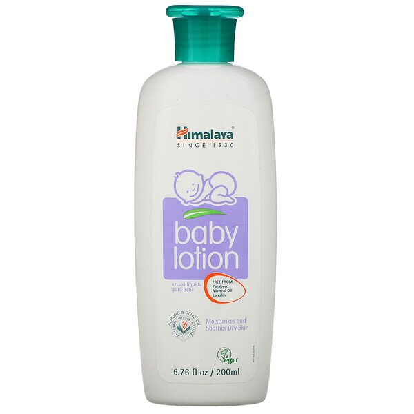 Baby Lotion, Oils of Almond & Olive, 6.76 fl oz (200 ml)