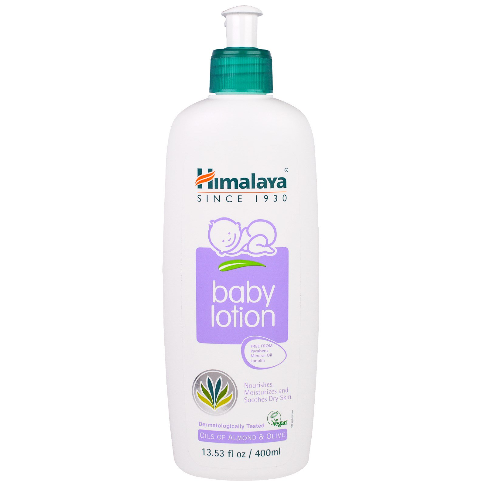 Himalaya Baby Lotion Oils Of Almond Olive Fl Oz
