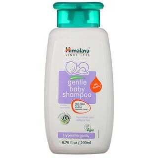 Himalaya, Schonendes Baby Shampoo, Hibiskus und Kichererbsen, 200 ml