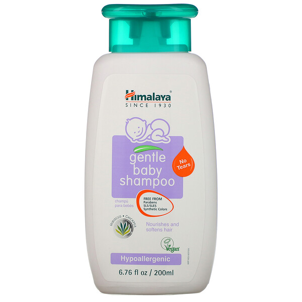 Gentle Baby Shampoo, Hibiscus and Chickpea, 6.76 fl oz (200 ml)