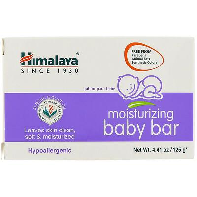 Фото - Увлажняющее детское мыло, 4,41 унц. (125 г) органическое детское питание 2 этап банан и тыква 4 унц 113 г