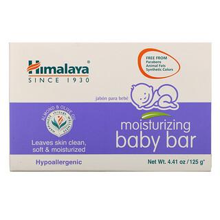 Himalaya, Pain de savon hydratant pour bébés, 4.41 oz (125 g)