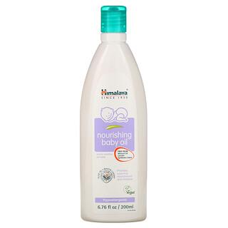 Himalaya, Nourishing Baby Oil, Olive Oil and Winter Cherry, 6.76 fl oz (200 ml)
