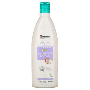 Хималая Хербал Хэлскэр, Nourishing Baby Oil, Olive Oil and Winter Cherry, 6.76 fl oz (200 ml) отзывы