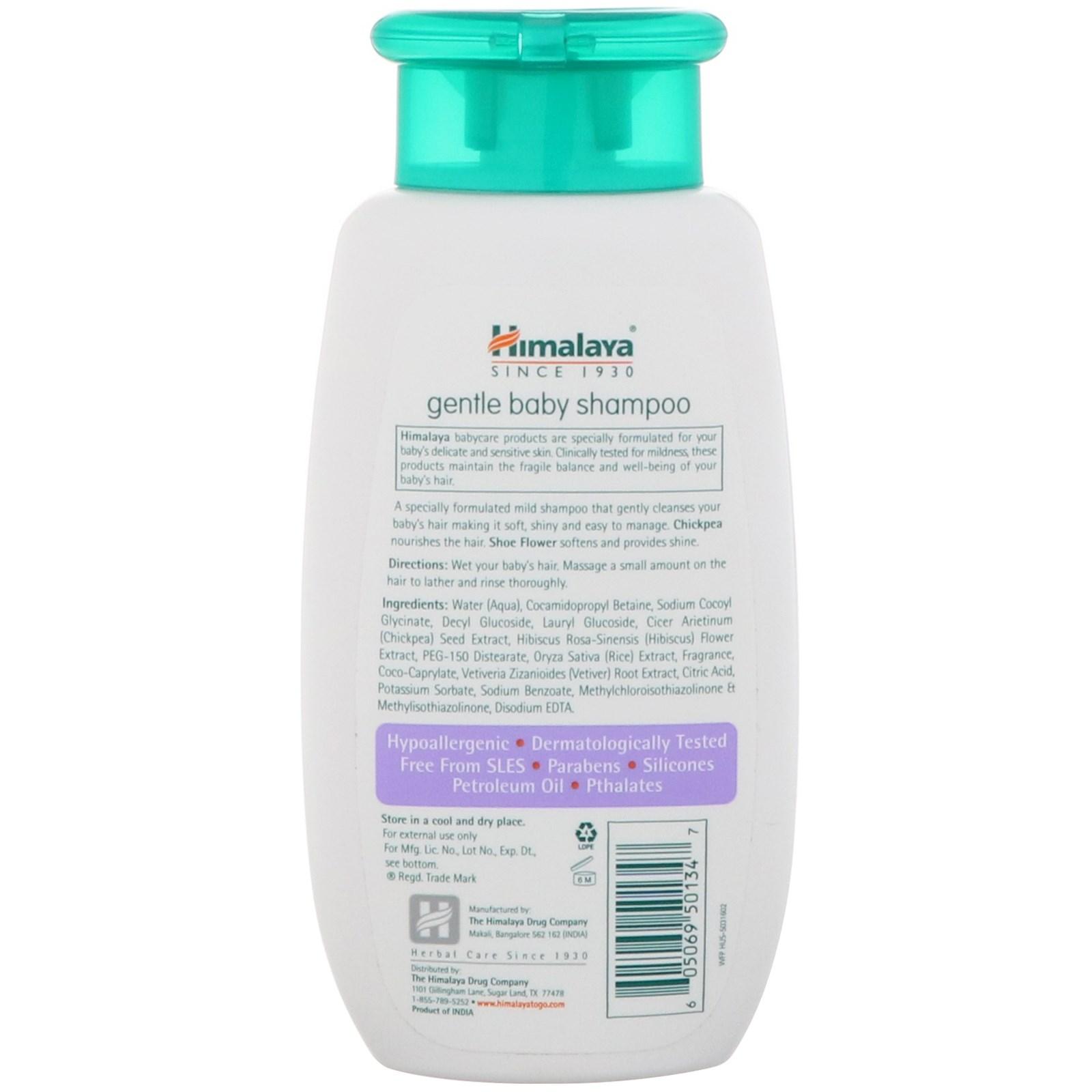Himalaya, Gentle Baby Shampoo, 3 38 fl oz (100 ml)