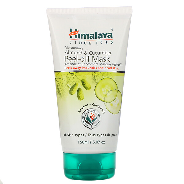 Peel-off Mask, For All Skin Types, Almond & Cucumber, 5.07 fl oz (150 ml)