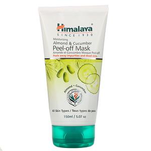 Хималая Хербал Хэлскэр, Peel-off Mask, For All Skin Types, Almond & Cucumber, 5.07 fl oz (150 ml) отзывы покупателей