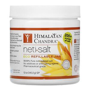 Хималаян Институт, Neti•Salt, Eco Refillable Jar, 12 oz (340.2 g) отзывы покупателей