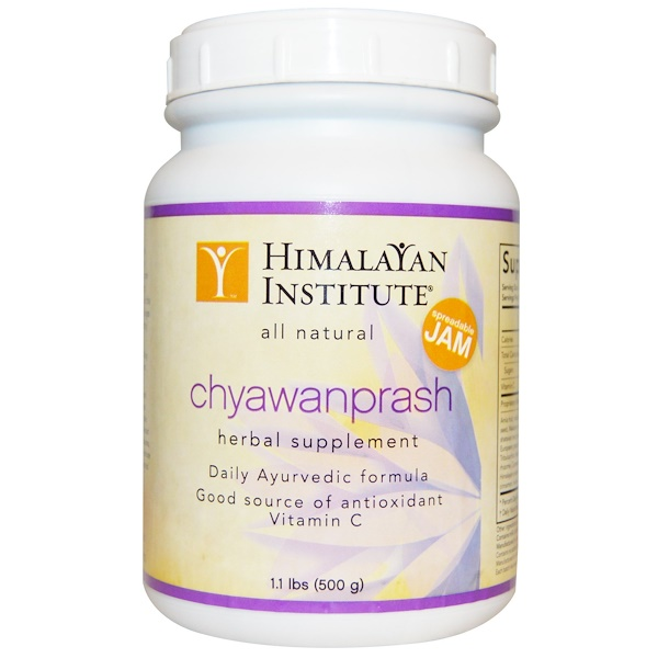 Himalayan Institute, Chyawanprash Spreadable Jam, 1.1 lbs (500 g)