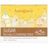 Huangjisoo, Sugar, No: Rinse Cleansing Pads, 60 Pads, 7.76 oz (220 g)