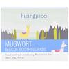 Huangjisoo, Mugwort, Rescue Soothing Pads, 60 Pads, 7.76 fl oz (220 g)