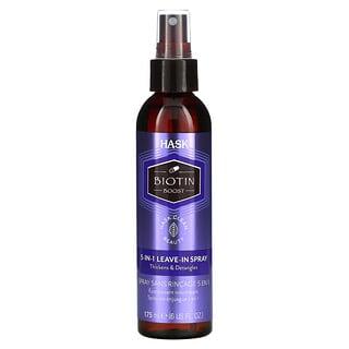 Hask Beauty, Biotin Boost, 5-In-1 Leave-In Spray, 6 fl oz (175 ml)