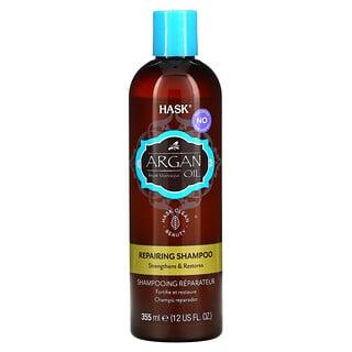 Hask Beauty, Argan Oil From Morocco, Repairing Shampoo, 12 fl oz (355 ml)