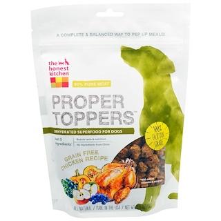 """The Honest Kitchen, """"Правильный топинг"""", добавка к корму для собак с курицей, не содержит зерновых, 5,5 унции (156 г)"""