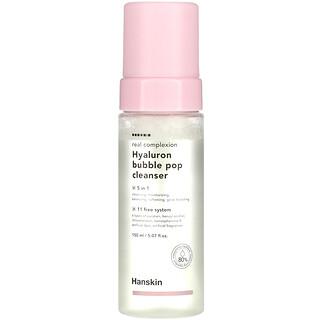 Hanskin, Real Complexion, Hyaluron Bubble Pop Cleanser, 5.07 fl oz (150 ml)
