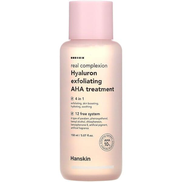 Real Complexion Hyaluron Exfoliating AHA Treatment, 5.07 fl oz (150 ml)