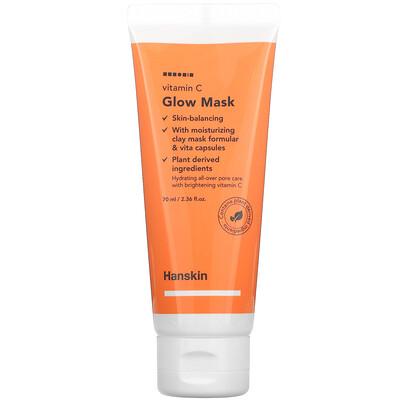 Hanskin Vitamin C, Glow Beauty Mask, 2.36 fl oz (70 ml)