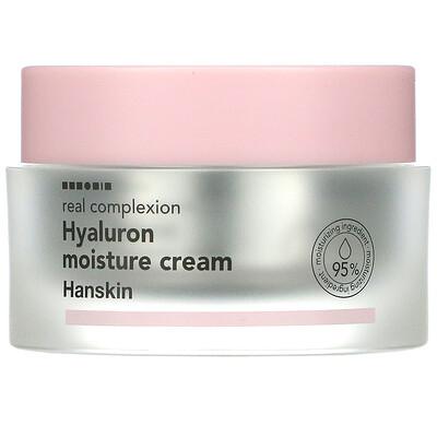 Hanskin Real Complexion Hyaluron Moisture Cream, 1.69 fl oz (50 ml)