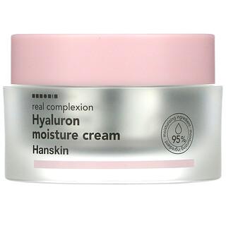 Hanskin, Real Complexion, Hyaluron Moisture Cream, 1.69 fl oz (50 ml)