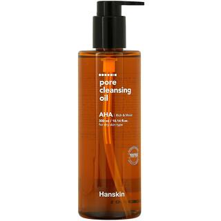 Hanskin, Pore Cleansing Oil, AHA, 10.14 fl oz (300 ml)