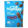 HighKey, Mini Cookies, Double Chocolate Brownie, 2 oz (56.6 g)