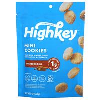 HighKey, Mini Cookies, Snickerdoodle, 2 oz (56.6 g)