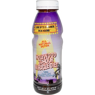 Hollywood Diet, Hollywood 24 Hour Miracle Diet, 16 fl oz (473 ml)