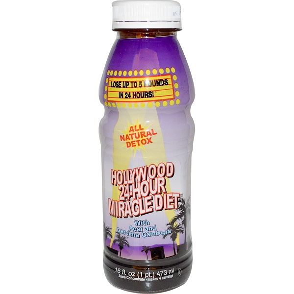 Hollywood Diet, Hollywood 24 Hour Miracle Diet, 16 fl oz(473 ml)