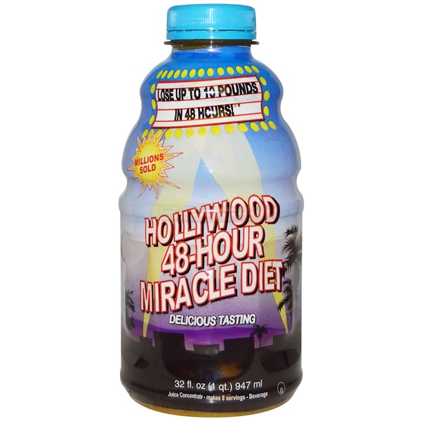 Hollywood Diet, Hollywood 48-Hour Miracle Diet, 32 fl oz (947 ml) (Discontinued Item)
