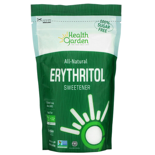 All-Natural Erythritol Sweetener, 1 lb (453 g)