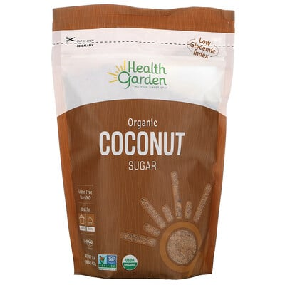 Купить Health Garden Organic Coconut Sugar, 16 oz (453 g)