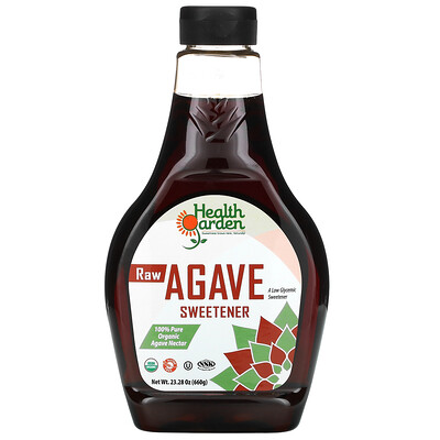 Купить Health Garden Raw Agave Sweetener, 23.28 oz (660 g)