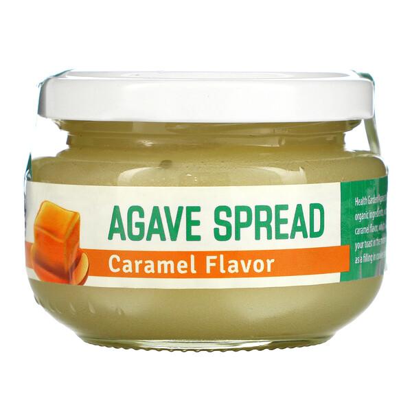 Health Garden, Agave Spread, Caramel Flavor, 4.93 oz (140 g)