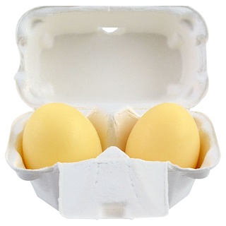 Holika Holika, Egg Soap, White, 2 Pieces